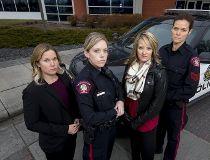female officer back the blue