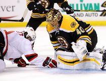 Tuukka Rask of the Boston Bruins