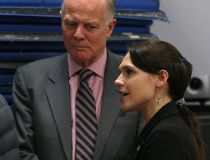 Cindy Lamoureux and Jon Gerrard