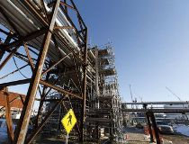 Sturgeon refinery taking shape
