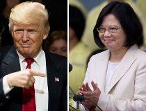 U.S. President-elect Donald Trump and Taiwanese President Tsai Ing-wen