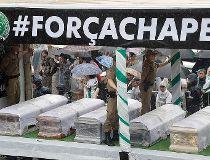 Chapecoense soccer funeral
