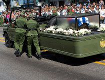 Castro ashes