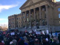 Legislature rally