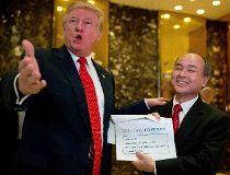 Donald Trump,Masayoshi Son