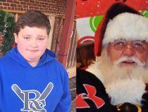 fat kid santa