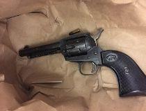loaded revolver