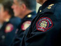 Calgary Police stk