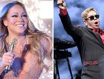 Mariah Carey and Elton John