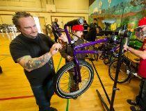 Share the Ride program, bike donation