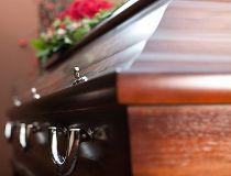 Coffin funeral casket death