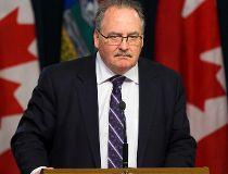 NDP house leader Brian Mason