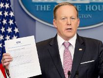 White House press secretary Sean Spicer - repeal Obamacare