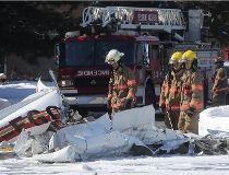 Plane crash at Promenades Saint-Bruno_3