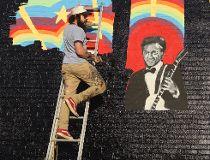Chuck Berry Mural
