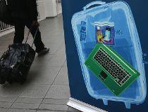 luggage at LaGuardia Airport