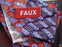 fake condoms