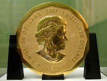 Big Maple Leaf coin
