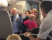 American Airlines flight attendant video