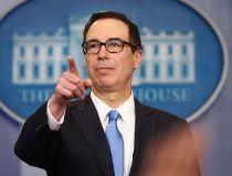 U.S. Treasury Secretary Steve Mnuchin