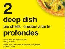No Name brand's deep dish pie shells