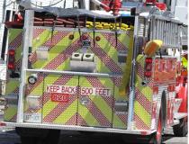 Smiths Falls fire truck.