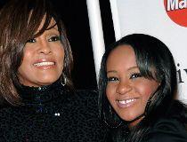 Whitney Houston and Bobbi Kristina Brown