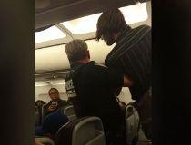 Air Canada ruckus