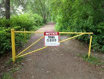 trails closed