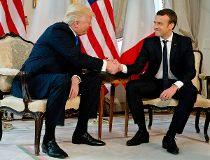 Trump handshake