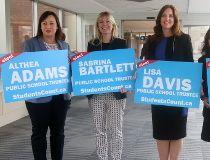 Althea Adams, Sabrina Bartlett, Lisa Davis and Bianca Smetacek