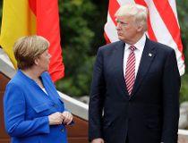 German Chancellor Angela Merke