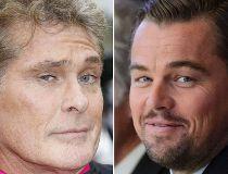 David Hasselhoff and Leonardo DiCaprio