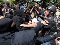 Berkeley clash