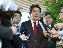 Japanese Prime Minister Shinzo Abe