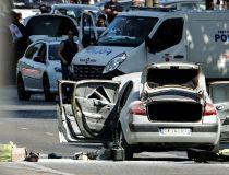 Paris terrorist's car