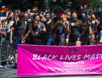 Black Lives Matter Toronto Pride Parade 2016
