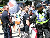 Anti-Islam protest city hall