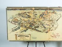 Walt Disney map
