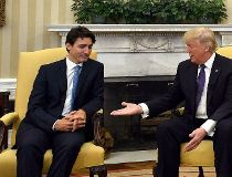Trudeau and Trump