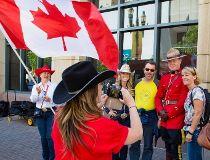 Stampede celebrates Canada's 150th