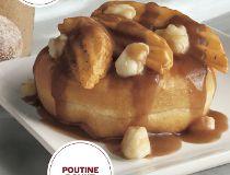 Poutine donut