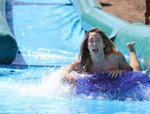 Winsport waterslide the plunge