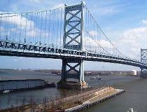 Ben Franklin Bridge. (Wikimedia Commons)