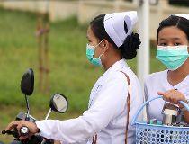 Nurses Swine flu Myanmar