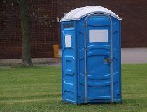 Port-a-potty portable washroom Getty