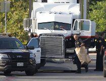 Tractor Trailer Tafficking Texas Walmart