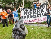 Confederate statue protests