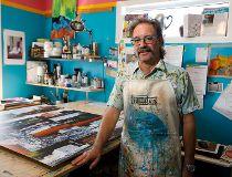 Edmonton artist Mark Henderson