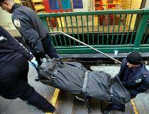 NYC Subway Corpse